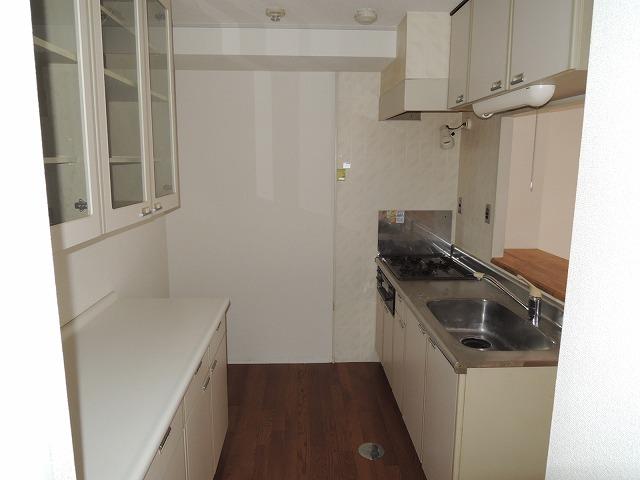 グランディール蜆塚B 205号室のキッチン