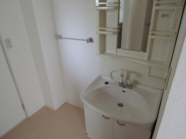 グランディール蜆塚B 205号室の洗面所