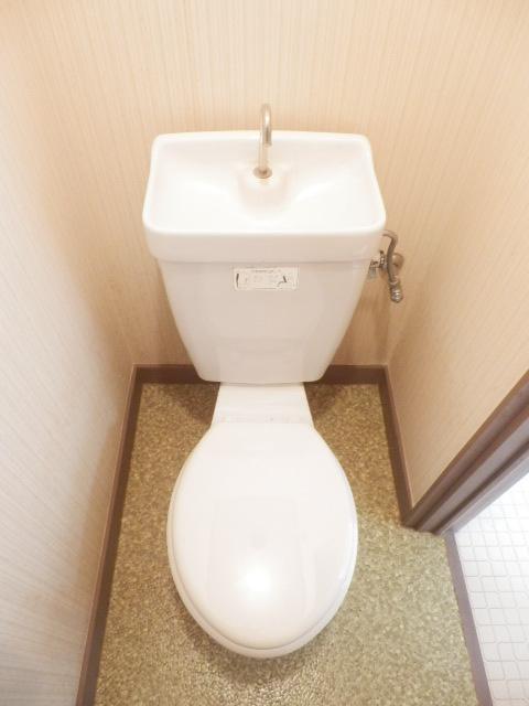 メゾン神谷 202号室のトイレ