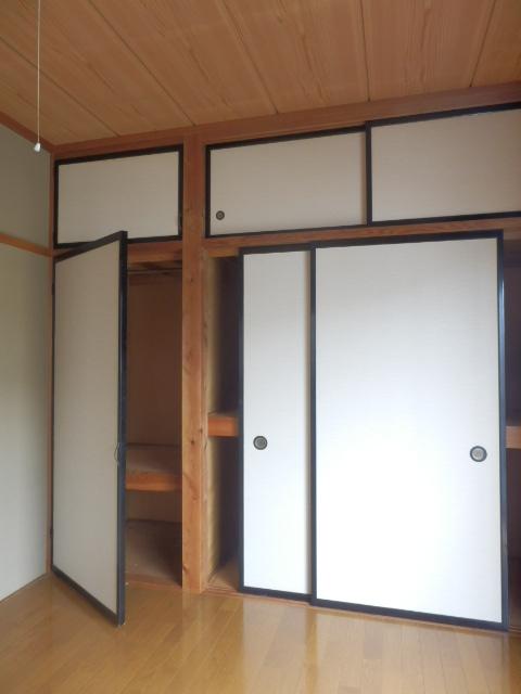 メゾン神谷 202号室の収納