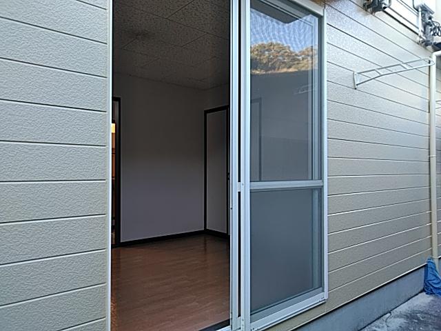 ラウム・ブリランテ 103号室のバルコニー
