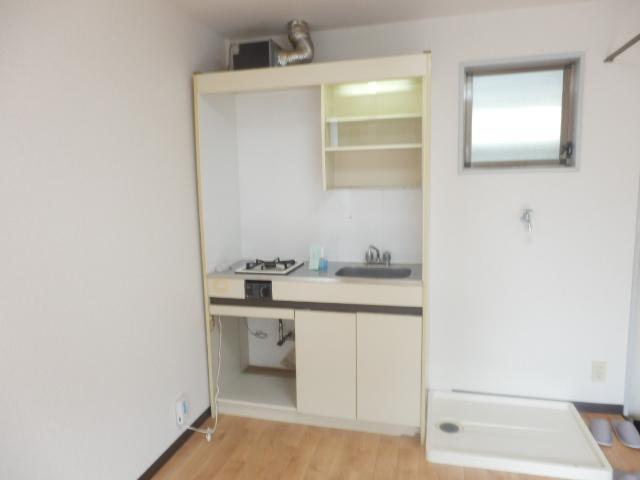 テックハウジング2 2A号室のキッチン