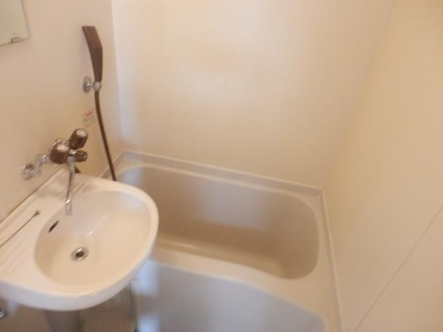 テックハウジング2 2A号室の風呂