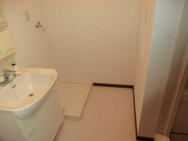 ボゥリーブ庄内 302号室の洗面所