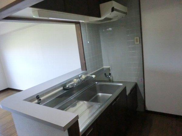 ボゥリーブ庄内 302号室のキッチン