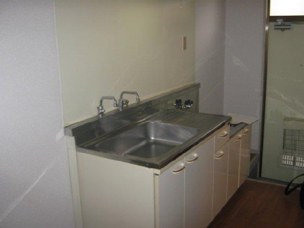 コーポあかつき 106号室のキッチン