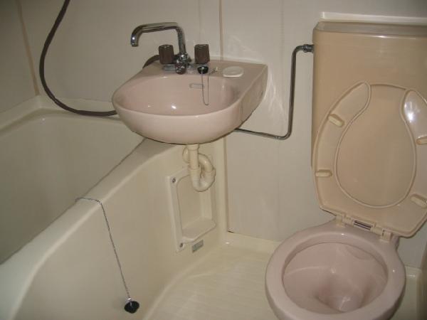 コーポあかつき 106号室の風呂
