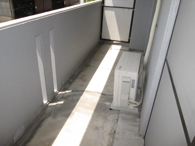 クレール神明 3B号室のバルコニー