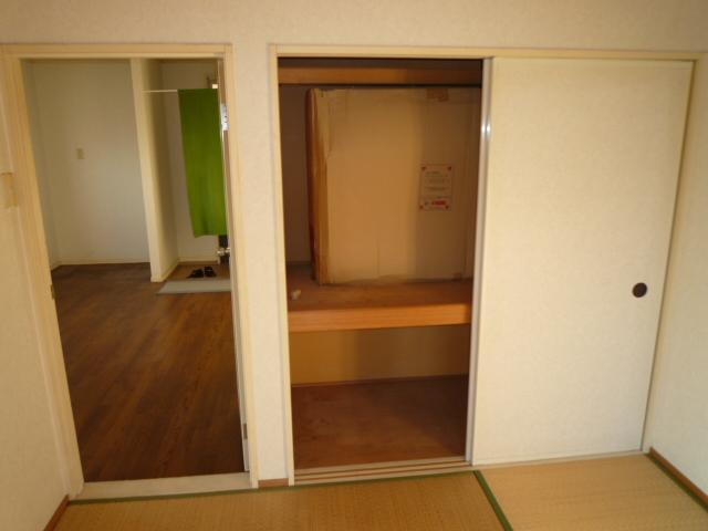 K'S HOUSE B棟 201号室の収納