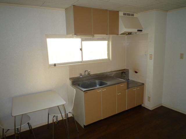 K'S HOUSE B棟 201号室のキッチン