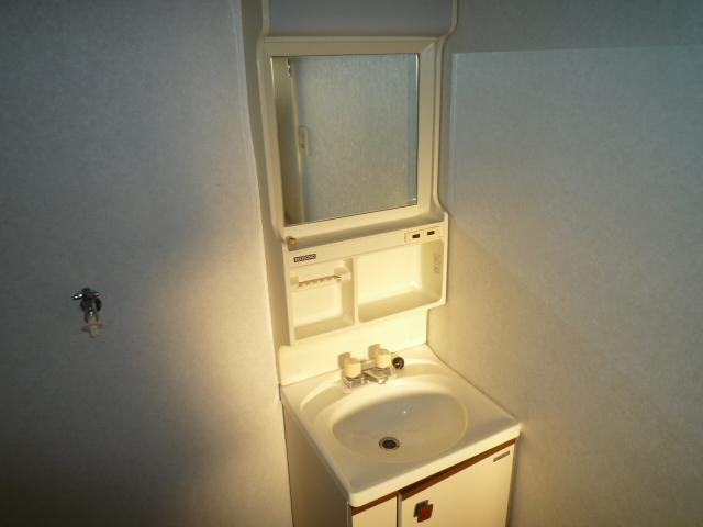 K'S HOUSE B棟 201号室の洗面所