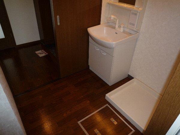 プロニティAOKI 201号室の洗面所