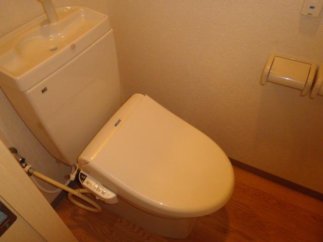 エル・オーブの森 203号室のトイレ