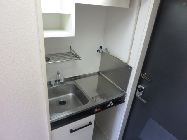 パレス大福 206号室のキッチン