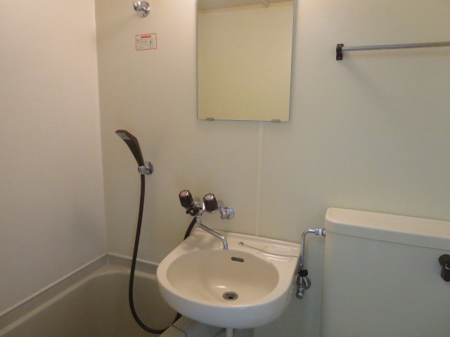パレス大福 206号室の洗面所