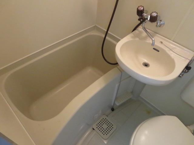 パレス大福 206号室の風呂