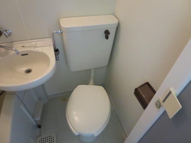 パレス大福 206号室のトイレ