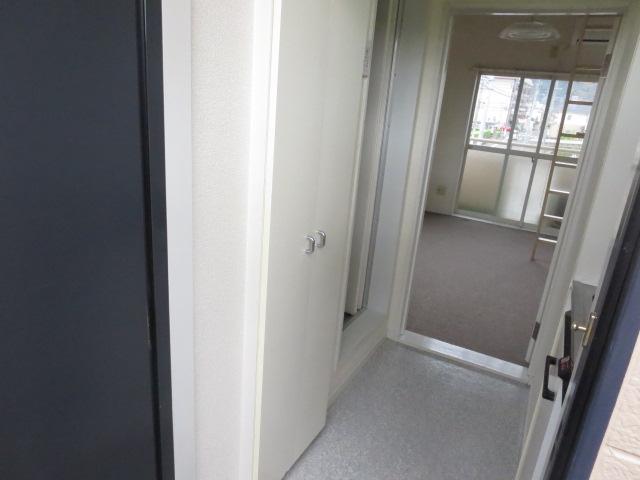 パレス大福 206号室の収納
