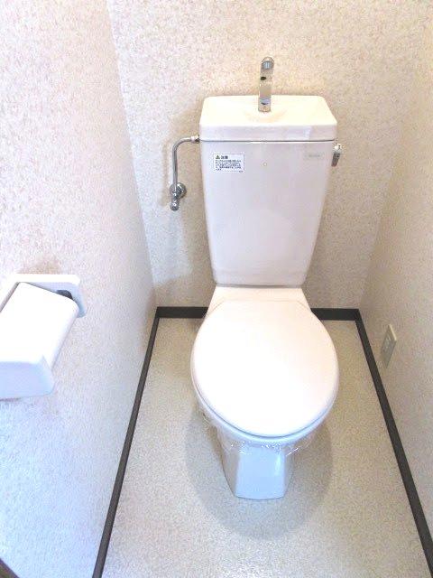 MYUⅡ 103号室のトイレ
