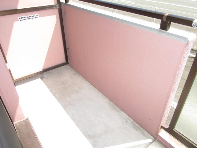 MYUⅡ 302号室のバルコニー