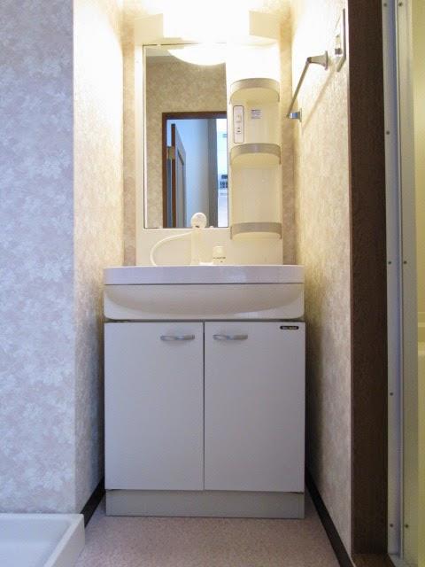ブライトタイムⅠ 408号室の洗面所