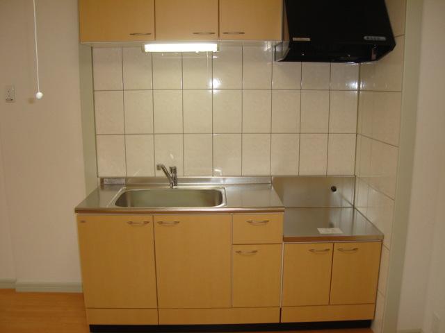 ミルキーベル 102号室のキッチン