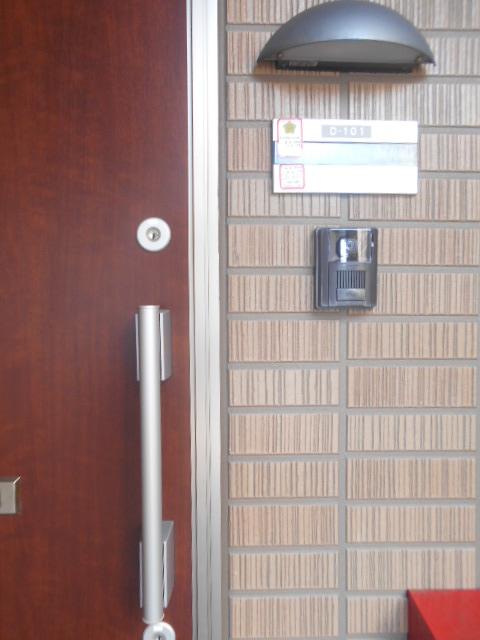 コートラフィーネD 101号室のセキュリティ