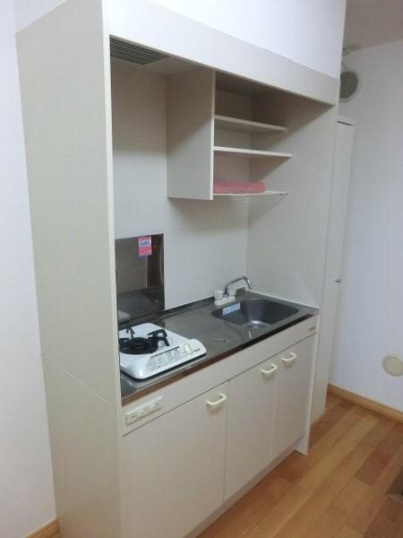 エルミタージュ桜新町 103号室のキッチン