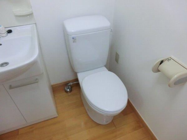 エルミタージュ桜新町 103号室のトイレ