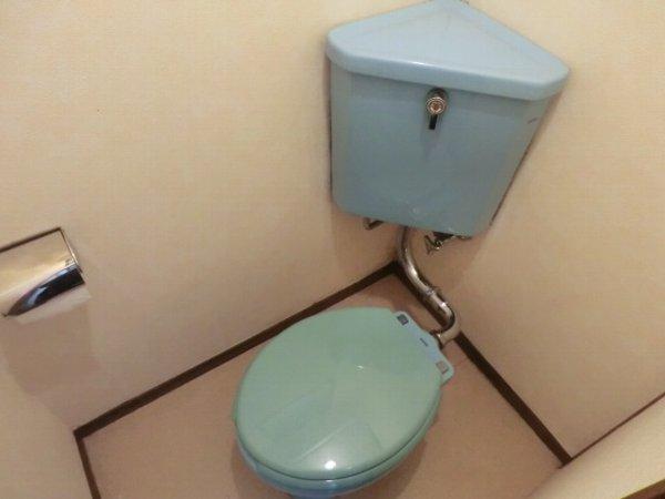 日香苑 205号室のトイレ