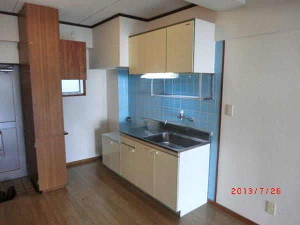 日香苑 304号室のキッチン