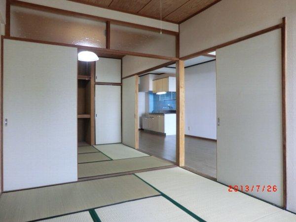 日香苑 304号室のリビング