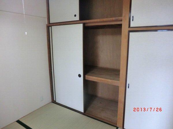 日香苑 304号室の収納