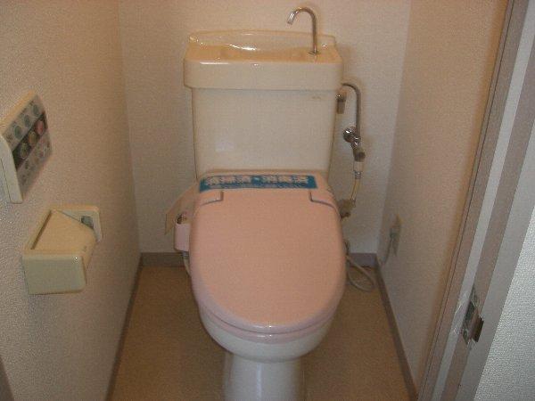 富士見ハイツ 302号室のトイレ