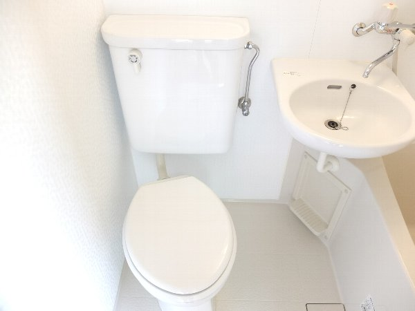 TOSHIハウス 202号室のトイレ