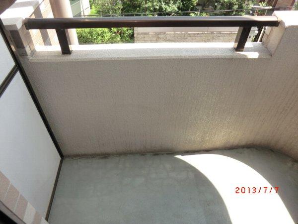 ソルカーサ公園橋 201号室のバルコニー
