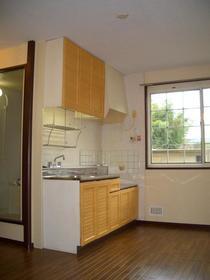 ラ・フィーネ 101号室のキッチン