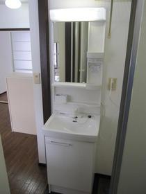 ラ・フィーネ 101号室の洗面所