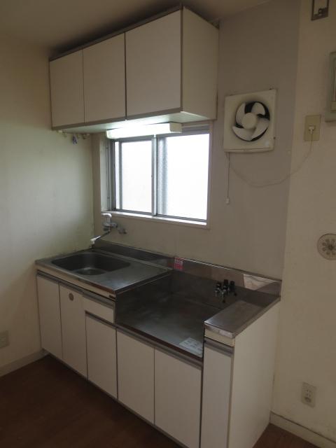 ラピス等々力 202号室のキッチン