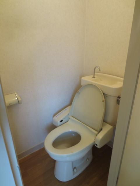 ラピス等々力 202号室のトイレ