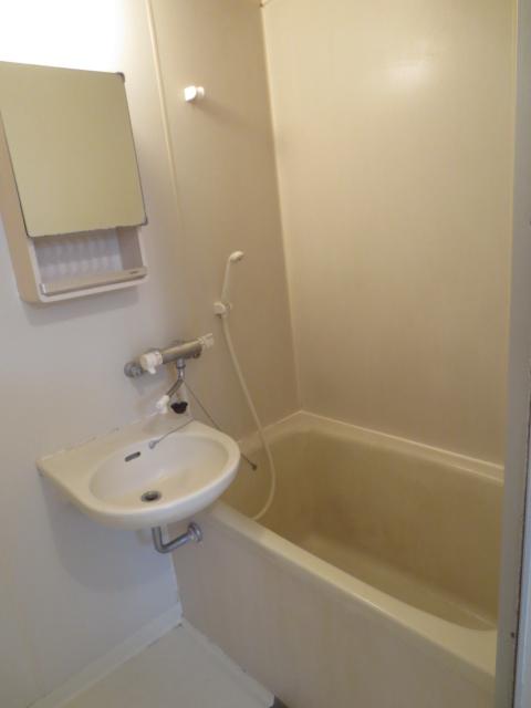 ラピス等々力 202号室の風呂