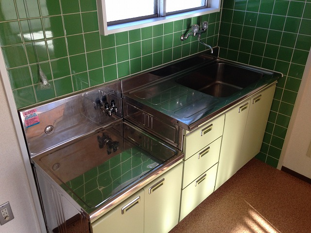 ラピス等々力 303号室のキッチン