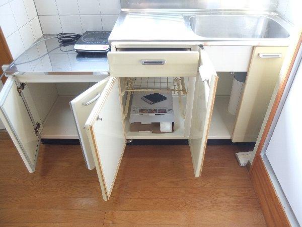 TOSHIハウス 203号室の収納