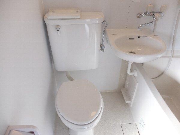 TOSHIハウス 203号室のトイレ