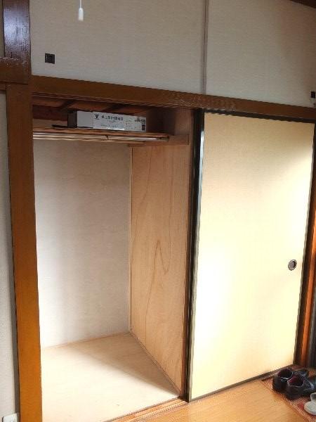 TOSHIハウス 204号室の収納