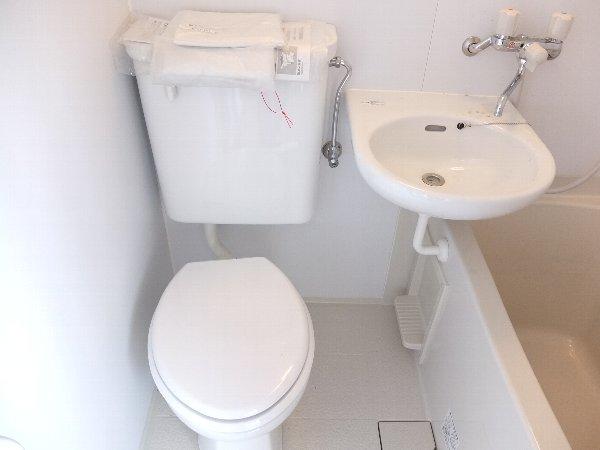 TOSHIハウス 204号室のトイレ