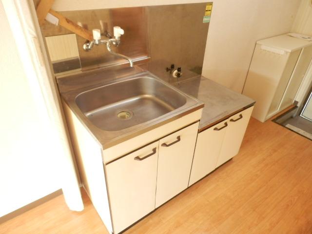 ビューラー三ケ島Ⅱ 00202号室のキッチン