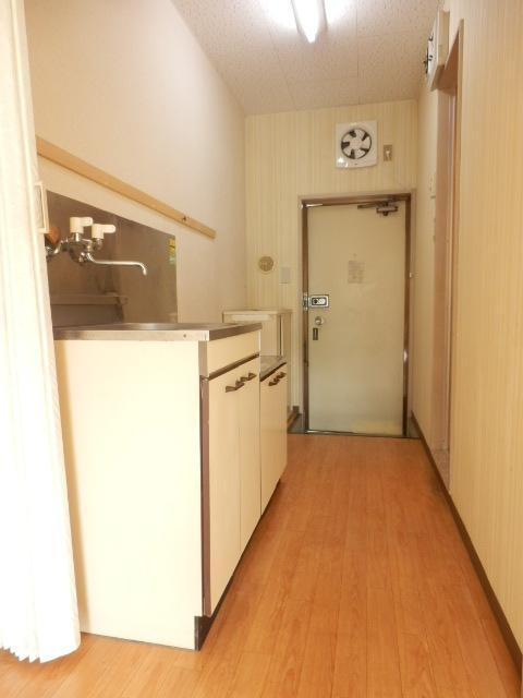 ビューラー三ケ島Ⅱ 00202号室の玄関
