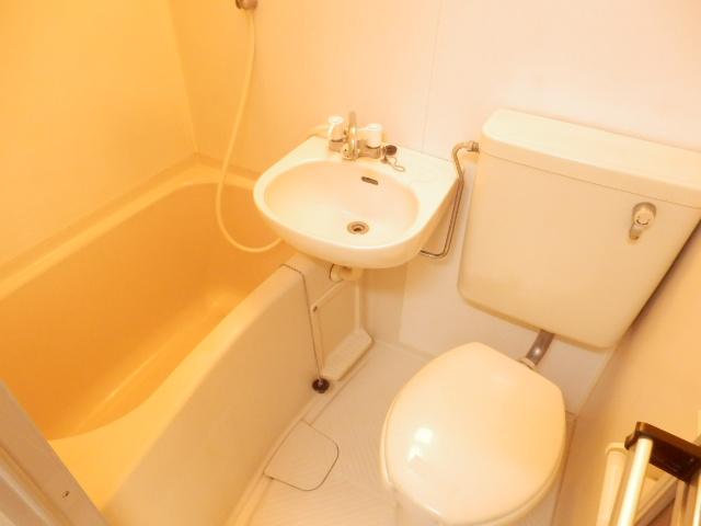 ビューラー三ケ島Ⅱ 00202号室の風呂