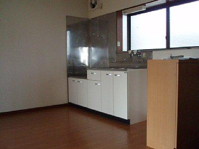 コーポ中田B 201号室のキッチン